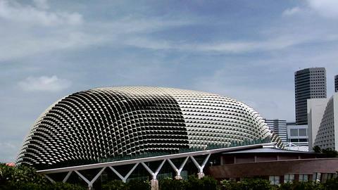 The Esplanade Theater Hall, Singapore Footage