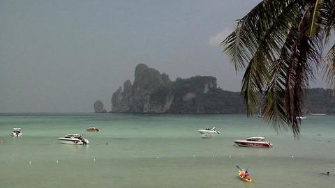 Ao Ton Sai Beach Footage