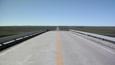 Road in South Dakota Live Action