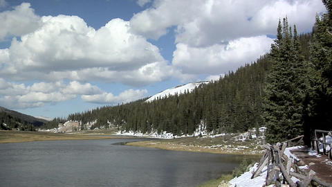 Part of the Grand Lakes, Rocky Mountain National Park Live Action