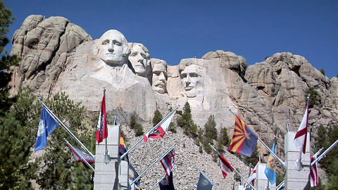 Mount Rushmore National Memorial Footage