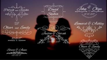 8 Wedding Titles V3 Premiere Pro Template