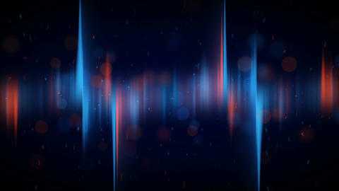 Aurora lights loopable background Animation