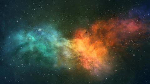 Eagle nebula Animation