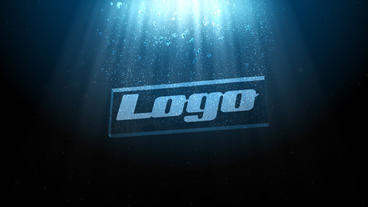Underwater logo Plantilla de After Effects