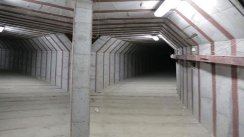 Underground tunnel 영상물