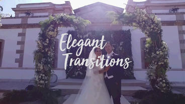 Elegant Transitions Premiere Pro Template
