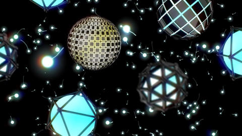 VJ 3D Geodesic Dome Animation