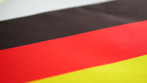 Germany flag turning Image