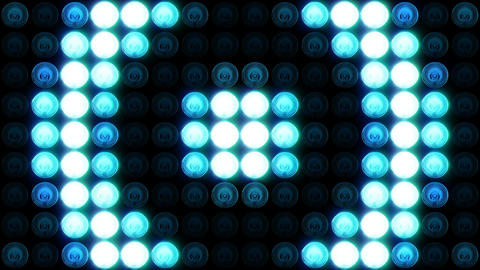Blinking Lights. VJ Loop Animation