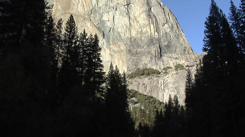 Scenic View at Yosemite National Park, California Live Action
