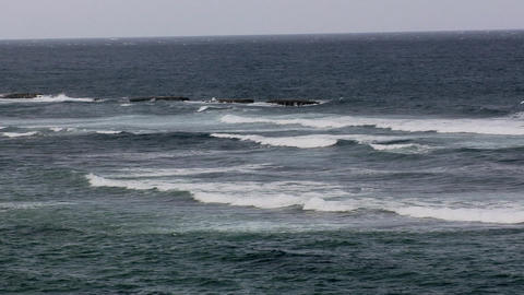 The Atlantic Ocean seen from Atlantic View Place Footage