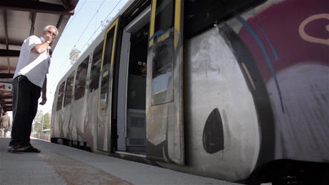 Train doors are closing 22 Footage