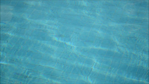 Water in a Swimming Pool Footage