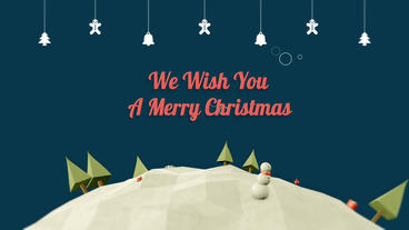 Christmas Greeting After Effects Template