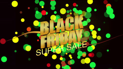 Black Friday Super Sale Footage