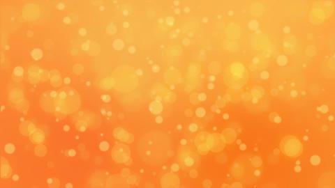 Orange bokeh lights background Animation