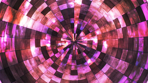 Twinkling Hi-Tech Grunge Flame Tunnel, Purple, Corporate, Loopable, 4K CG動画素材
