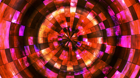 Twinkling Hi-Tech Grunge Flame Tunnel, Red Orange, Corporate, Loopable, 4K Image