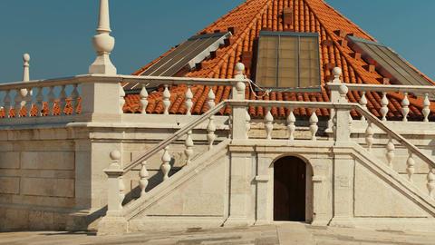 Mosteiro de Sao Vicente de Fora, Lisbon, Portugal Footage