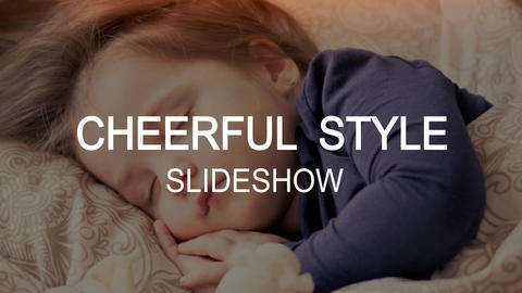 Cheerful slideshow After Effects Template