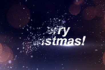Christmas Logo Plantilla de After Effects