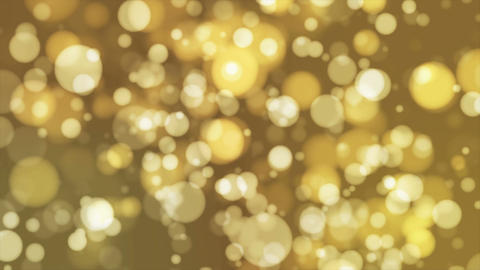 Broadcast Light Bokeh, Yellow Brown, Events, Loopable, 4K Animation