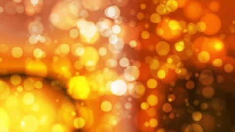 Broadcast Light Bokeh, Orange Golden, Events, Loopable, 4K Animation