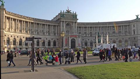 Vienna, Austria - November 2017: historical center of Vienna. Austria. Vienna Footage