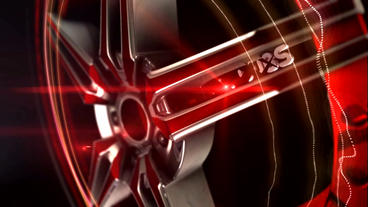 Racing Rims And Wheels stock footage
