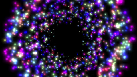 4k Abstract Circles,bubbles Blister Background,dots Fireworks Particles Foam stock footage