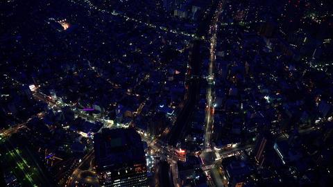 夜景微速度東京、nightview.Time-lapse.tokyo02 Footage