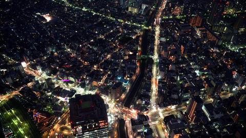 夜景微速度東京、nightview.Time-lapse.tokyo Footage