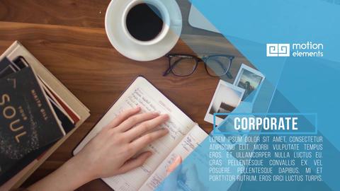 Corporate Slideshow Premiere Pro Template