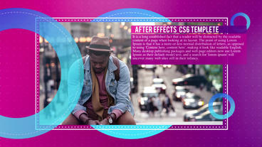 Fashion Digital Slideshow Plantilla de After Effects