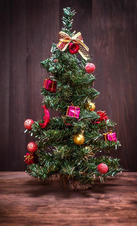 Artificial Christmas tree Fotografía