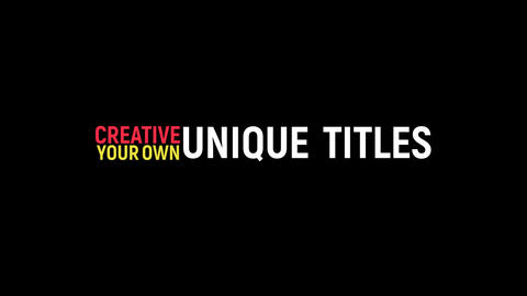 Kinetic Typography 3 After Effects Template