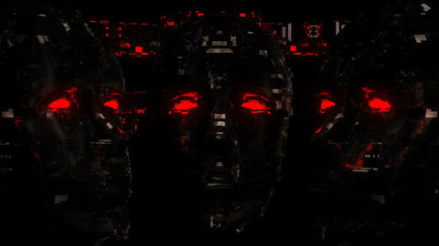 Cyber Face VJ Loop Animation