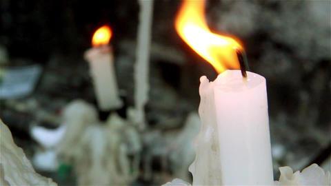 Altar in Cerro San Cristobal, Santiago de Chile Live Action