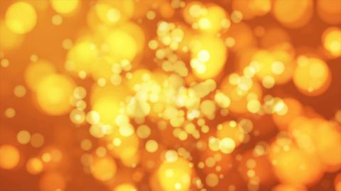 Broadcast Light Bokeh, Golden Orange, Events, Loopable, 4K Animation