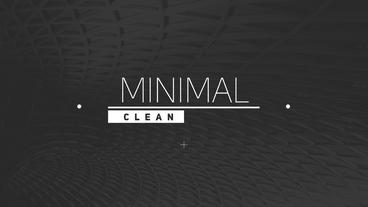 Clean Minimal Titles Premiere Pro Template