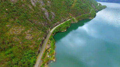 Norway. beautiful landscape of Norway GIF