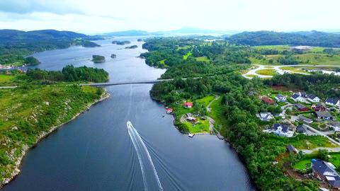 Norway. beautiful landscape of Norway Footage