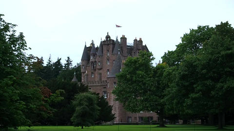 Glamis Castle, Scotland Footage