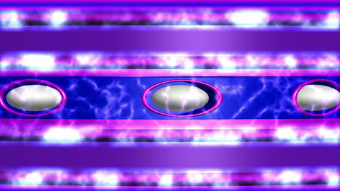 Abstract background blue purple with ellipses and white fire Animación