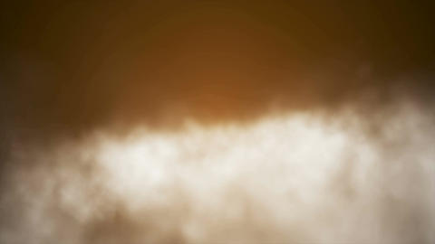 Broadcast Clouds Fly Through, Orange, Sky, Loopable, 4K Stock Video Footage