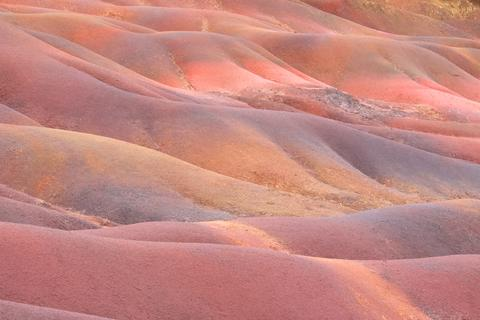 Seven Coloured Earth dunes in Mauritius Fotografía