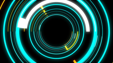 Glitch Rays 4K 03 Vj Loop Animation