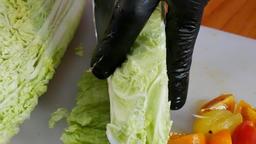 Make vegan fruits salad Image