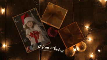 Beautiful Christmas Gallery After Effects Template